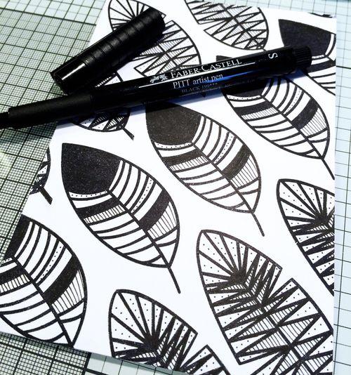 Faber Castell Design Memory Crafts Maya Isaksson October Card 2