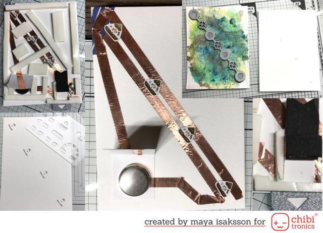 Maya Isaksson CAS Fridays Chibitronics