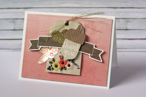 Maya Isaksson Design in Papers Cedar Lane card