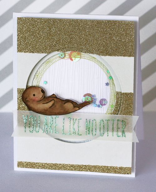 Maya Isaksson design in papers otter