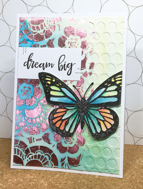 Maya isaksson design in papers minc butterfly
